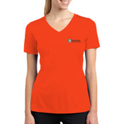 Sport Tek Ladies PosiCharge ™ RacerMesh ™ V Neck Tee