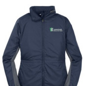 Port Authority® Ladies Core Colorblock Wind Jacket.