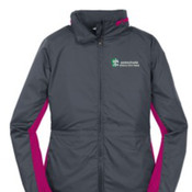 Port Authority Ladies Core Colorblock Wind Jacket.